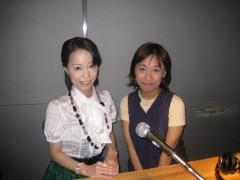 当代表がFMラジオに出演
